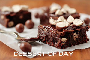 Dessert of the day